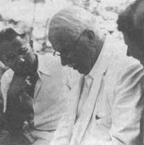 Jung en una de las reuniones de Eranos