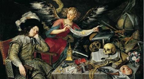 Pereda - El sueño del caballero (siglo XVII)