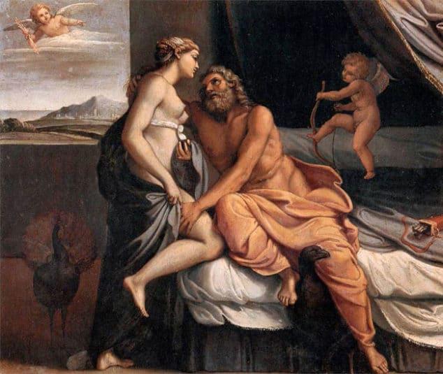 Jupiter y Juno